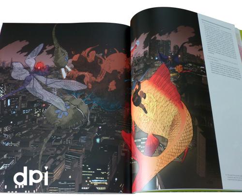 Antoine Revoy in dpi Magazine's Design Stars Boulevard vol.12 (spread)
